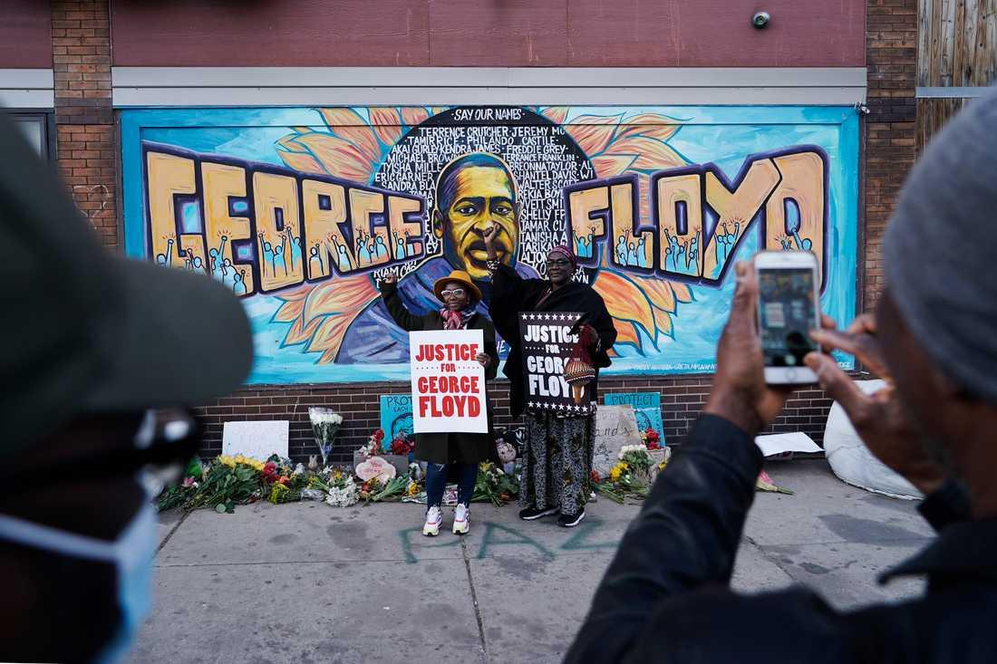 Många uttrycker lättnad efter domen mot den tidigare polismannen Derek Chauvin som fastslår att han orsakade George Floyds död i maj i fjol.
