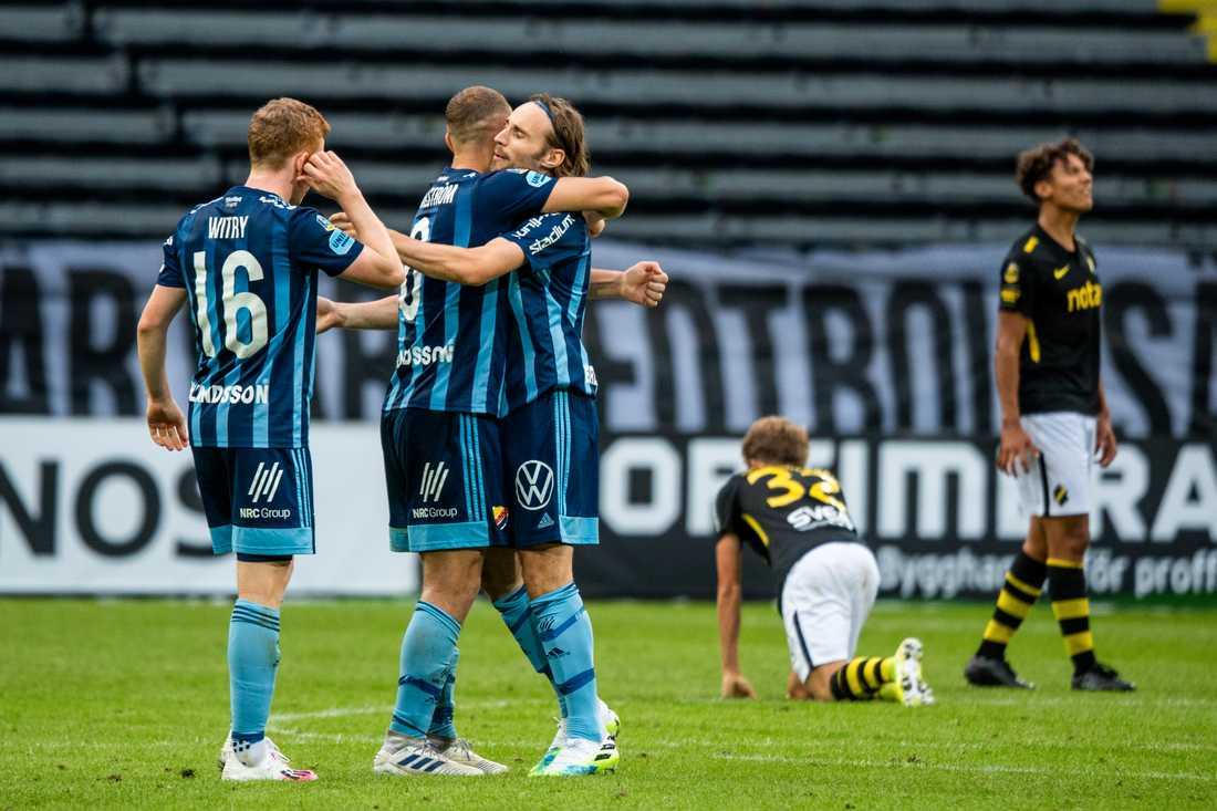 Djurgården vann derbyt mot AIK.