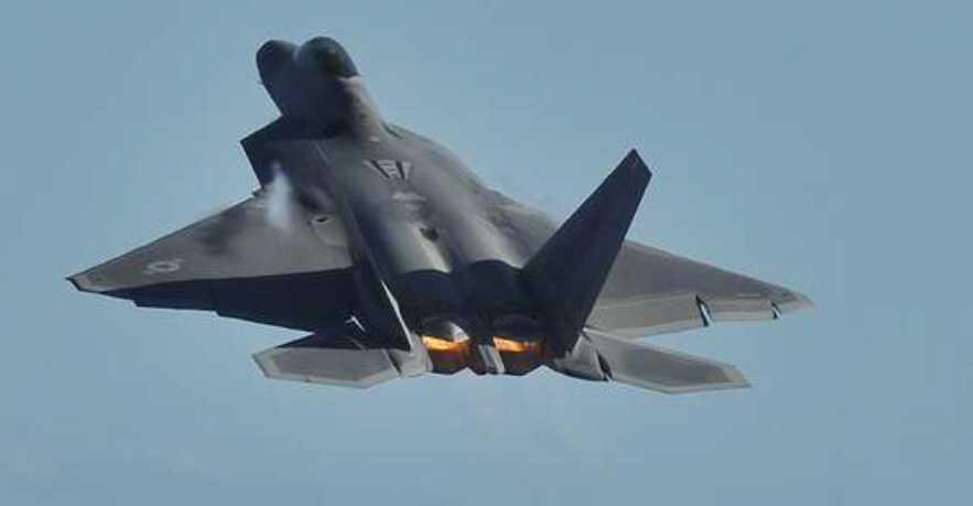 USA har tidigare skickat smygarplan av typen F22-Raptor till Sydkorea som ett svar på hoten från Nordkorea.