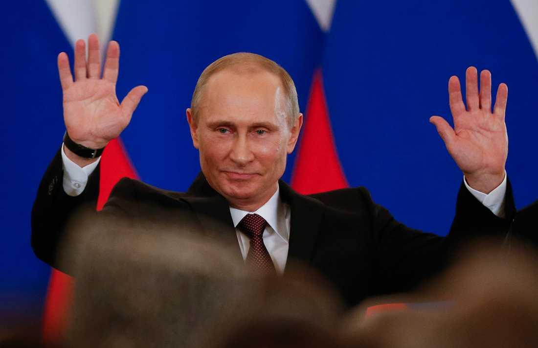 Rysslands ledare Vladimir Putin.