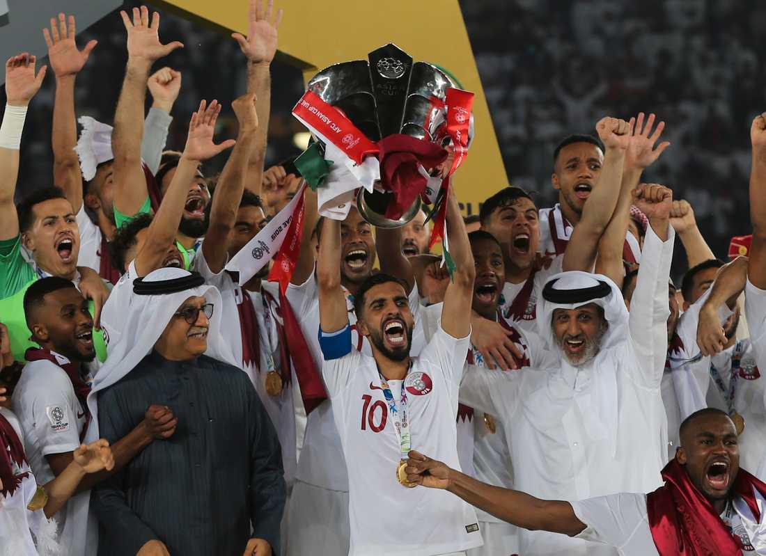 Qatar vann asiatiska mästerskapen