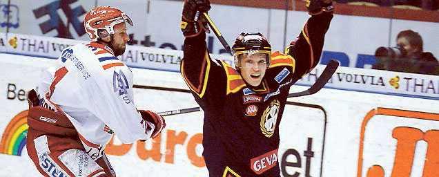 Jakob Silfverberg blev tvåmålskytt.
