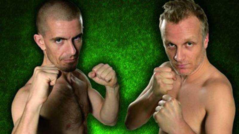Ska puckla på varandra Gus Hansen och Theo Jörgensen ska gå en match med 40 000 dollar i potten. Vinnaren får pengarna, den andra betalar.