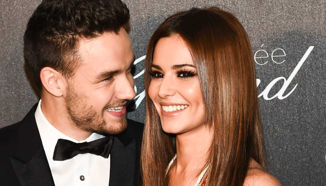 Liam Payne och Cheryl Cole.