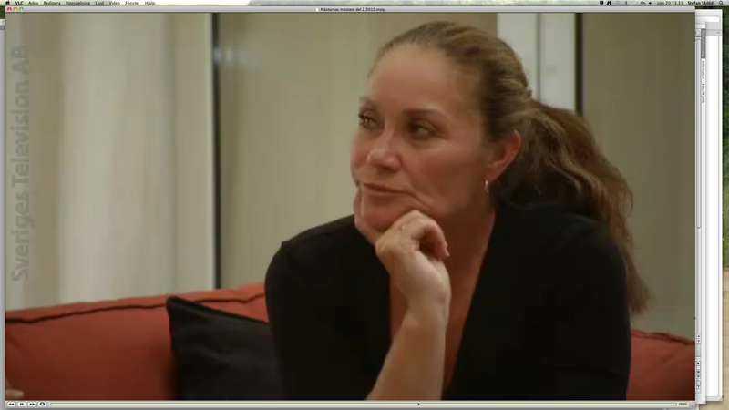 Linda Haglund såg att Gunnar Larsson tvivlade.