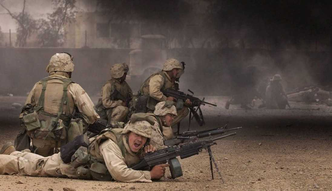 Amerikanska soldater i Irak.