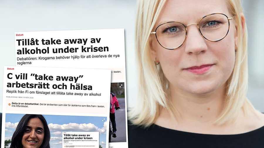 Möjligheten till take away av alkohol är ett smittsäkert sätt att bidra till restaurangernas överlevnad och på så vis rädda jobb. Alla drar sitt strå till stacken. Solidaritet kallas det, skriver Karin Ernlund.