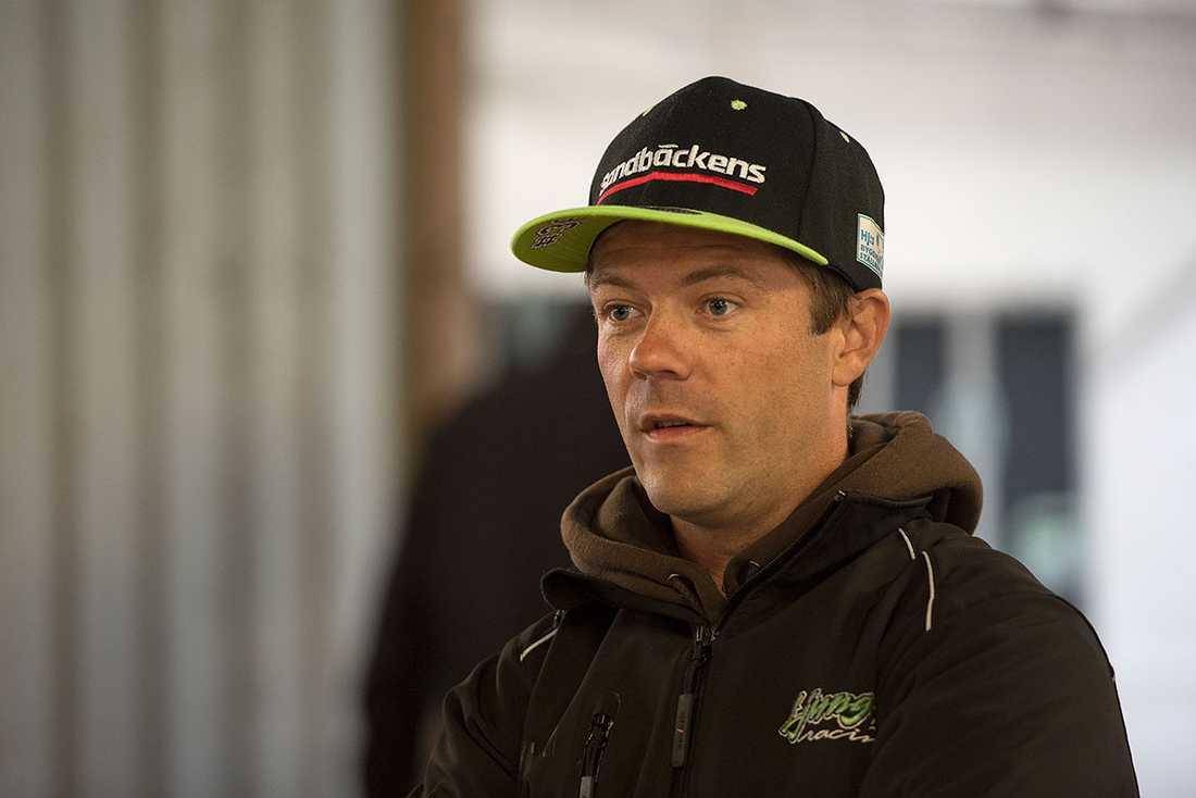 Peter Ljung kan inte köra i finalen.