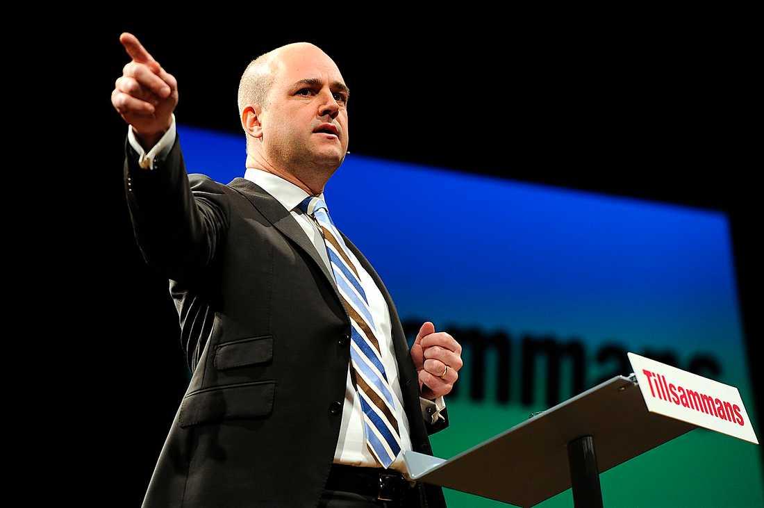 VARM I KLÄDERNA Fredrik Reinfeldts nyfunna självsäkerhet efter fem år som statsminister gjorde succé på den moderata partistämman.