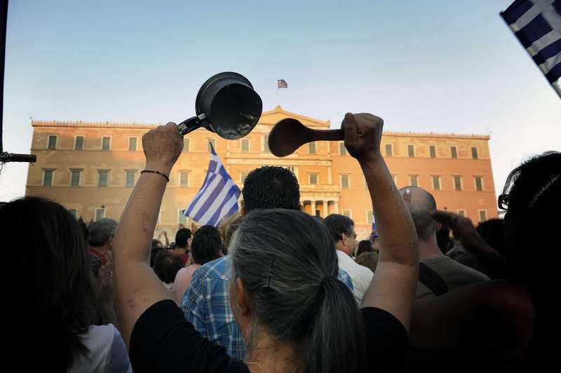 2009 erkände Grekland en statsskuld på 300 miljarder euro – det är dubbelt så mycket som EU:s regler tillåter.