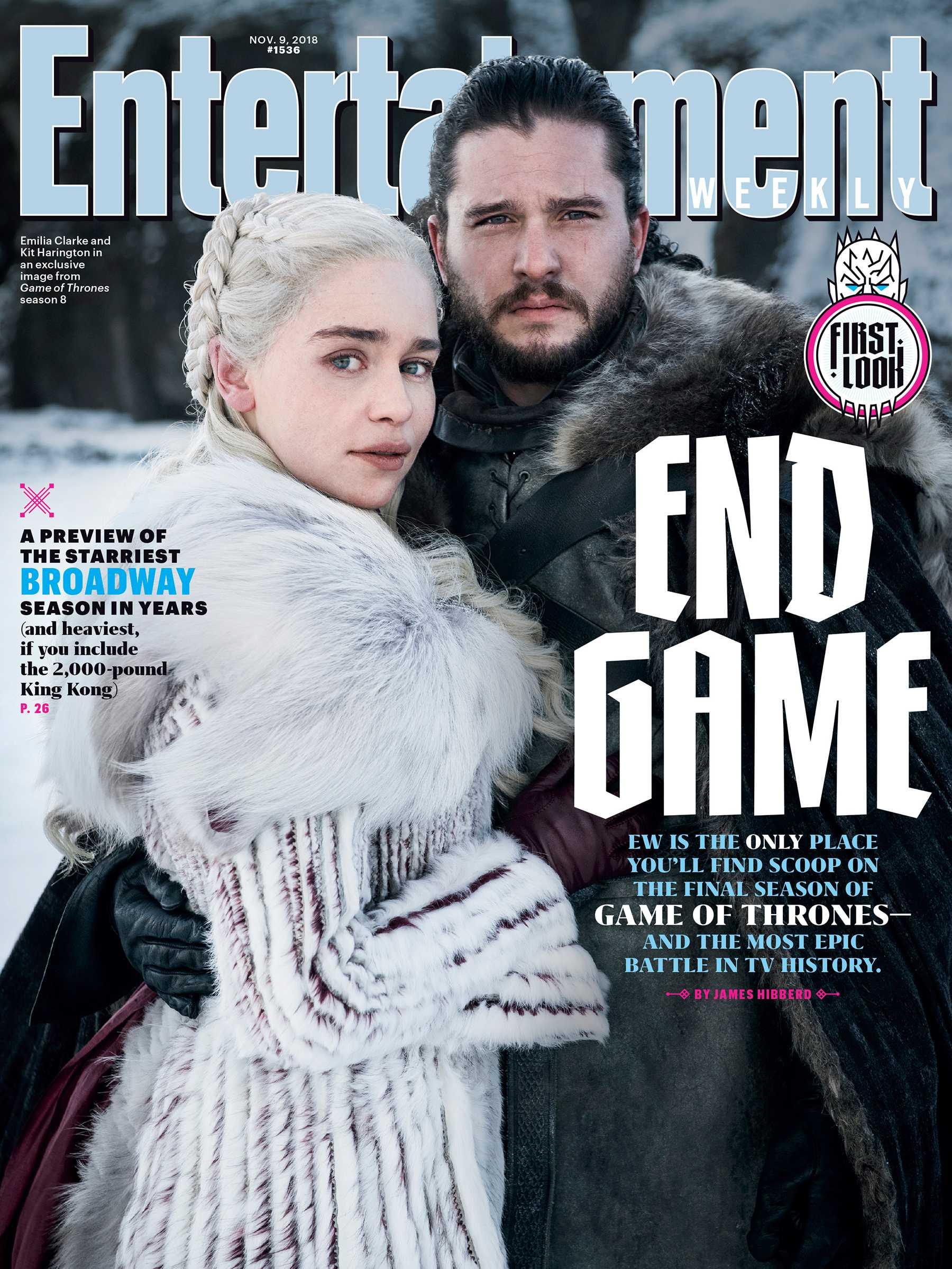 Tidningen Entertainment Weeklys omslag.