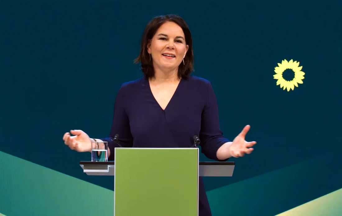 Annalena Baerbock är De Grönas kandidat till kansler inför valet i höst. För första gången finns en liten, men realistisk, möjlighet att partiet kan vinna.