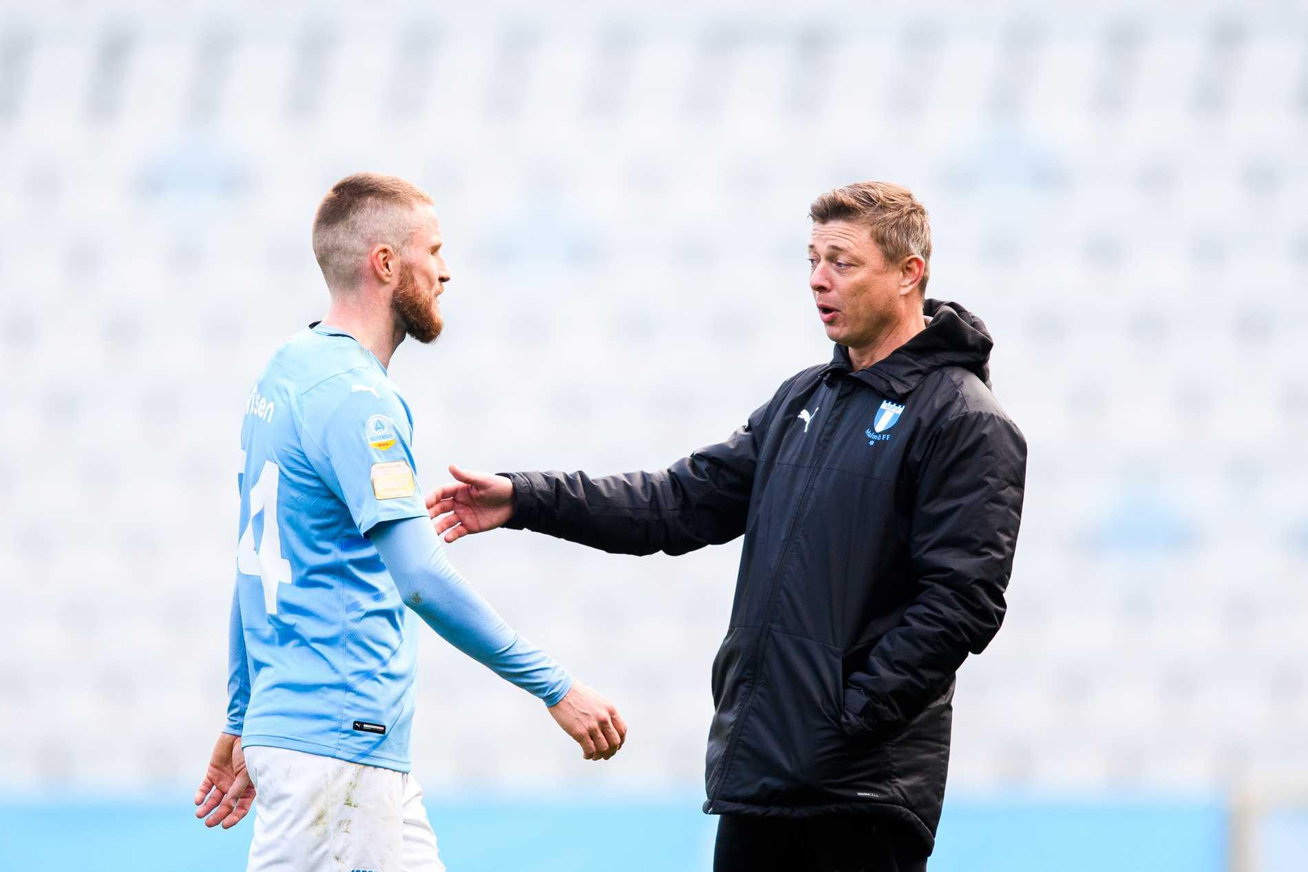 Lasse Nielsen och Jon Dahl Tomasson.