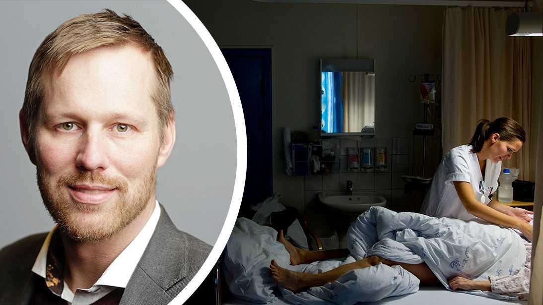 Regionstyrelsens vice ordförande Björn-Owe Björk (KD) hoppas att den nya visselblåsarfunktionen ska fånga upp fler missförhållanden.