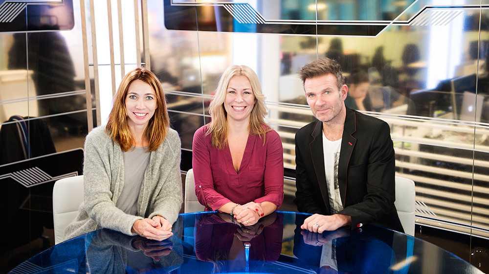 Ska leda nya satsningen Karin Magnusson, Maria Bjaring och Claes Åkeson är programledarna för Aftonbladet TV:s morgonprogram.