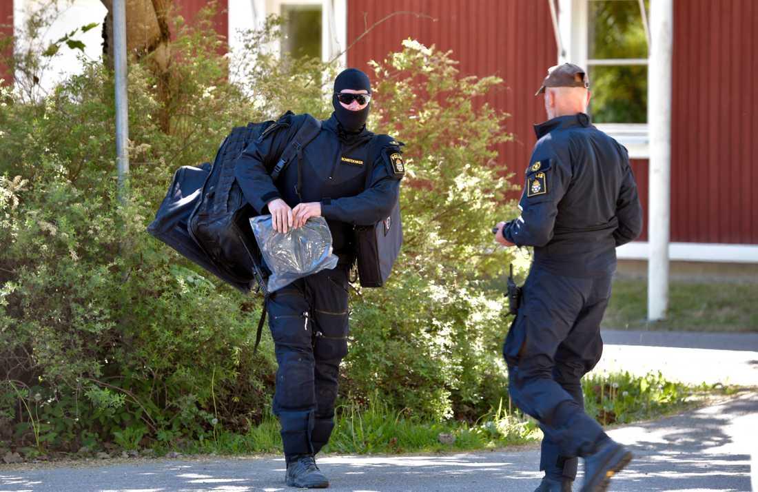 Ett misstänkt föremål har påträffats i Uppsala.