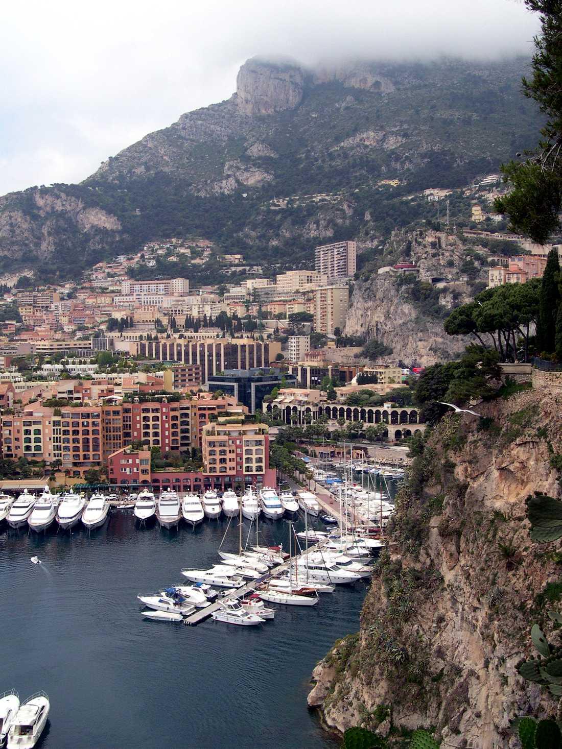Franska rivieran, hamnen i Monte Carlo.