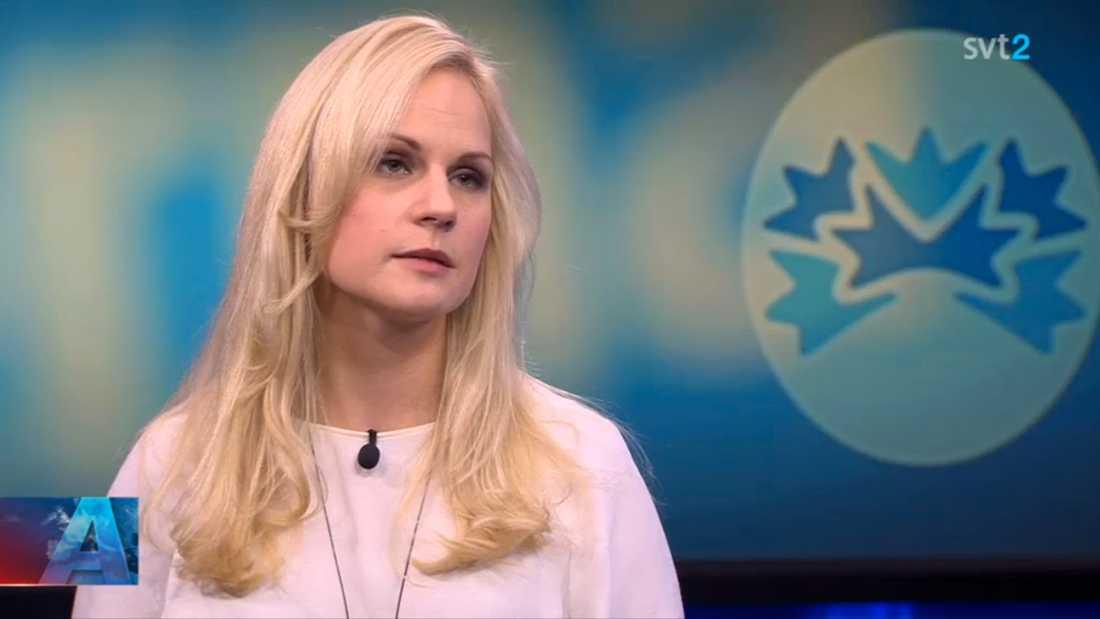 Frida Johansson Metso var hårt kritisk mot Jan Björklund.