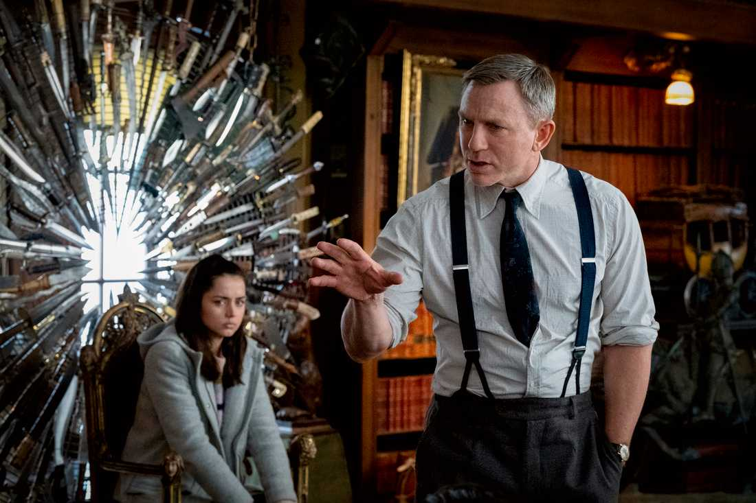 "Ana De Armas och Daniel Craig i ""Knives Out"""