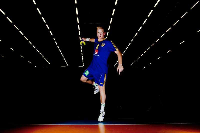 SUPERTALANG 20-årige Jim Gottfridsson är svensk handbolls framtidsman. I kväll debuterar han i EM-kvalet mot Ukraina.
