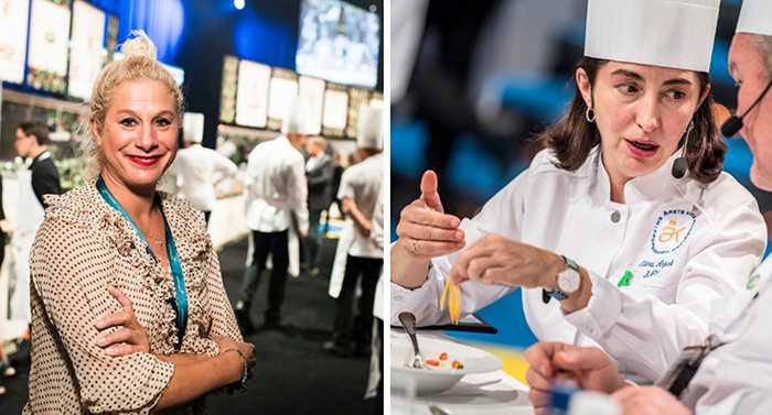 Två internationella kock-superstjärnor satt i juryn, slovenska Ana Ros och spanska Elena Arzak.