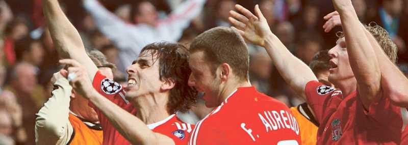 Trots en ryktesroulette och sina två superstjärnor ur spel, lyckades Liverpool vinna mot Real Madrid genom Yossi Benayouns nickmål.