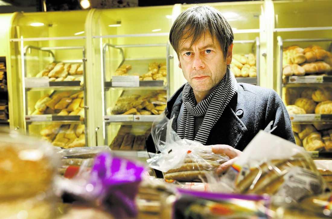 """Mats-Eric Nilsson är matskribent i Svenska Dagbladet och har skrivit böckerna """"Den hemlige kocken"""" och """"Äkta vara""""."""""""