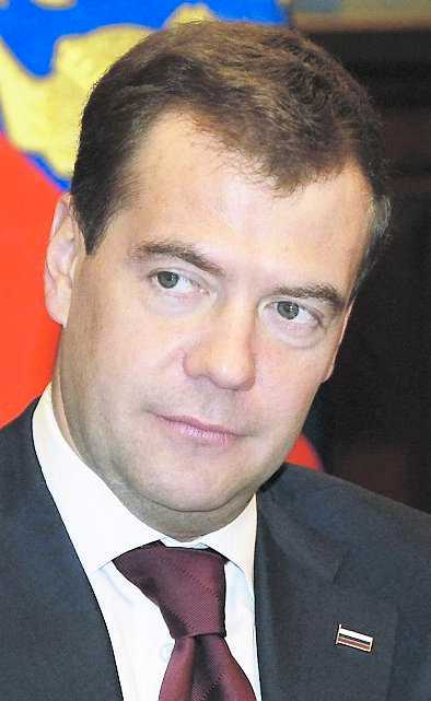 """""""På denna svåra dag står hela det ryska folket bakom det polska folket.""""Dmitrij Medvedev, Rysslands president."""