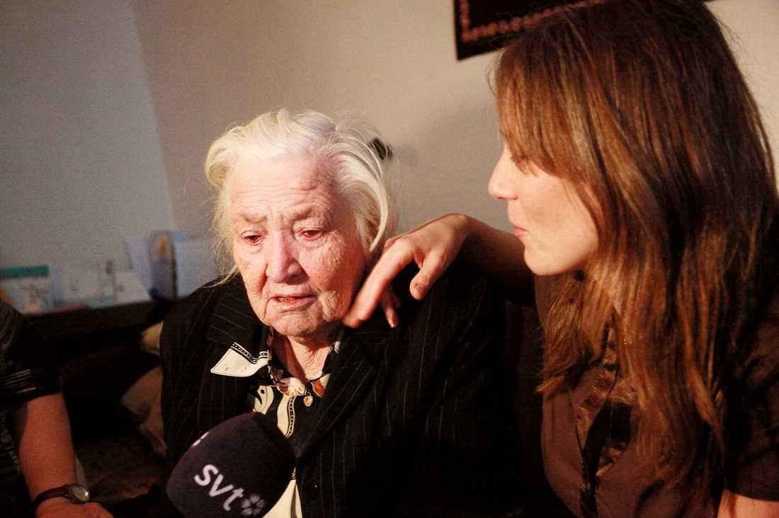 Ganna, 91, är synskadad, hjärtsjuk och dement och ska utvisas till Ukraina, där hon inte längre har några släktingar som kan ta hand om henne.