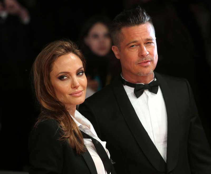 Angelina Jolie och Brad Pitt.