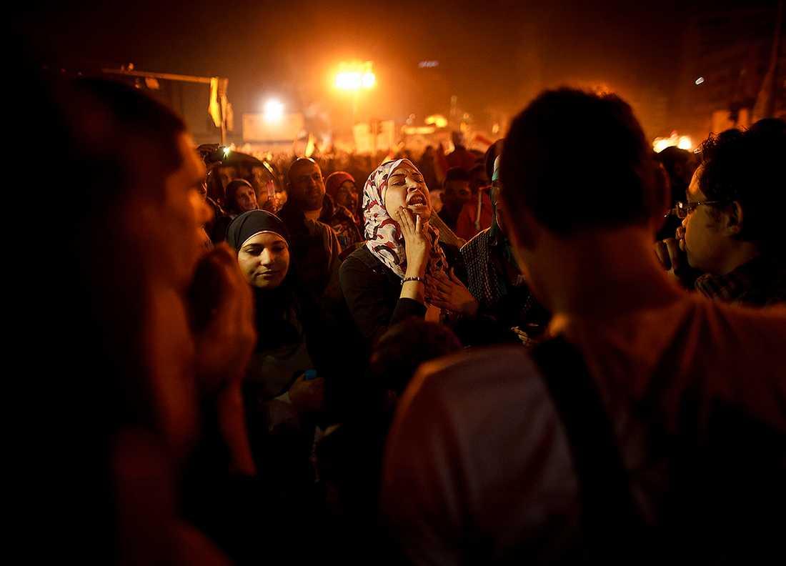 Värst utsatta I skuggan av upproret har det sexuella våldet mot Egyptens kvinnor trappats upp. Sedan en dryg vecka tillbaka har omkring 170 kvinnor utsatts för övergrepp på Tahrirtorget i Kairo. Nu är det dags att säga ifrån.