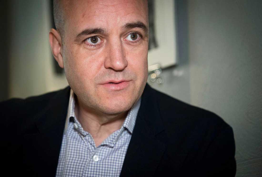 Fredrik Reinfeldt (M) ligger högst på listan.