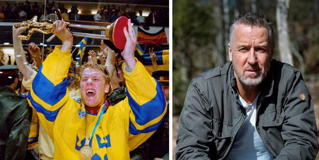 Tommy Söderström. Till höger 50 år gammal, 20 år sedan sista SM-guldet, 30 år sedan första SM-guldet.