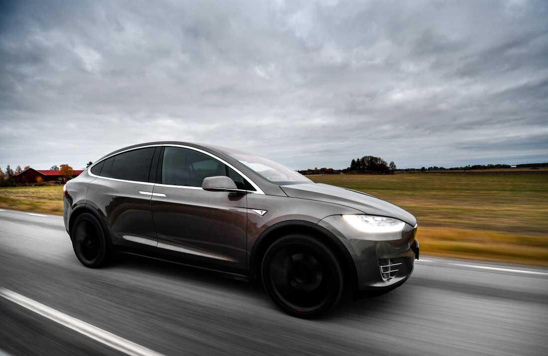 Volvo i topp, men Tesla är nu svenskarnas tredje favoritbilmärke. Arkivbild.