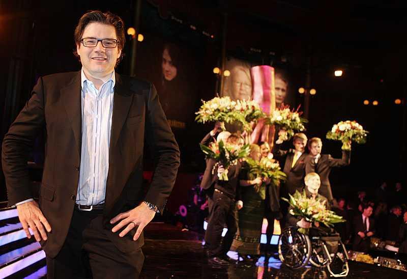 """Chefredaktör Jan Helin hoppas helst av allt att Aftonbladet vinner """"Helhetspriset – Årets dagstidning""""."""