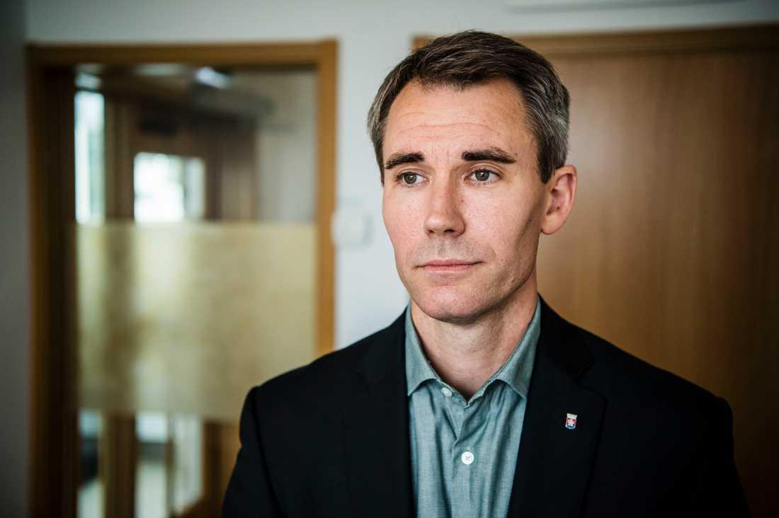 David Norrfjärd, grundskolechef i Jönköping.