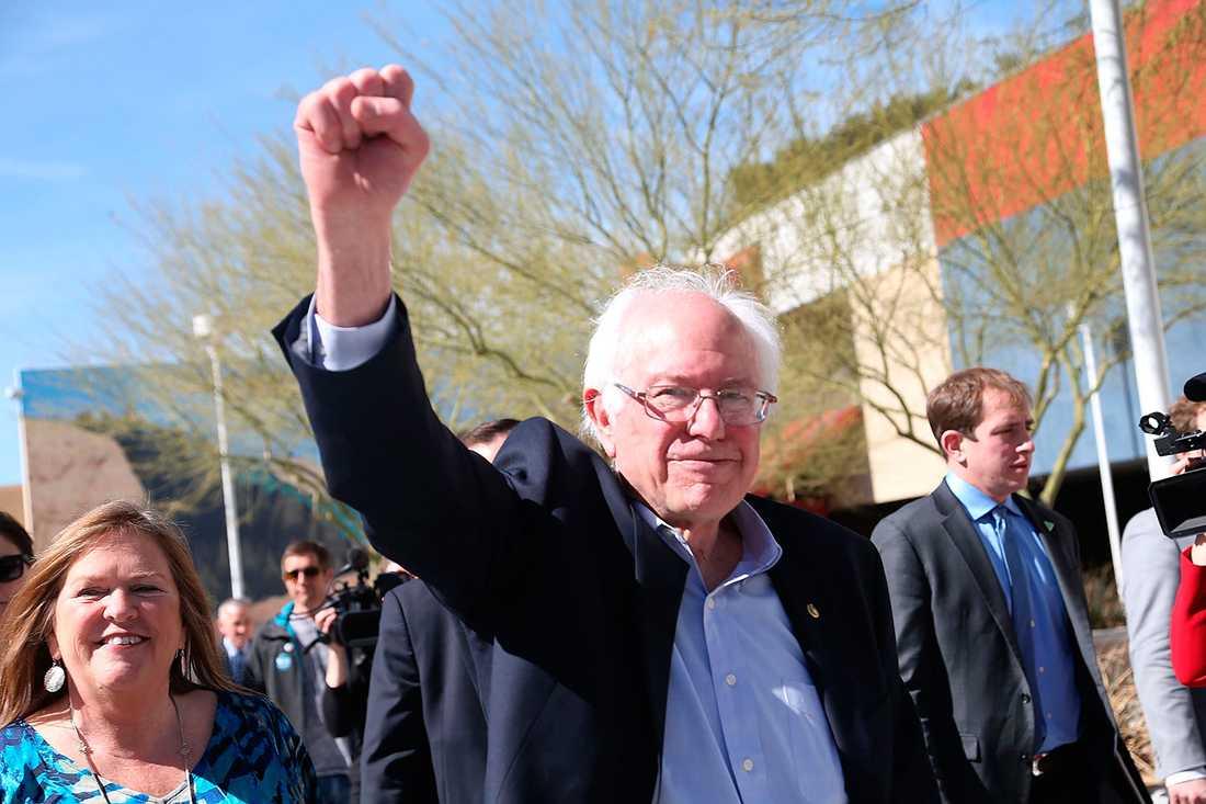 Bernie Sanders verkar segerviss.
