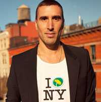 Max Ahlborn, språkrör MP New York.
