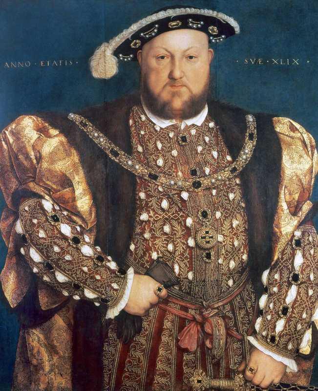 """7. Kung Henrik VIII skrev 1527 om sin kärlek till sin andra hustru Anne Boleyn, som avrättades 1536 efter anklagelser om mordkonspirationer mot honom När kärleken var ung och kungen fortfarande var gift med sin andra fru lät det bland annat så här: """"Även om du min älskarinna inte har fullföljt ditt löfte när jag sist var med dig, att få höra nyheter från dig, och har ett svar på min sista, ser jag det som att det är en del av att vara en sann tjänare att fråga om sin älskarinnas hälsa. Jag skickar även med en bock som jag dödade i går kväll, med förhoppningen att du tänker på jägaren när du äter av den. Skrivet av din tjänares hand."""""""