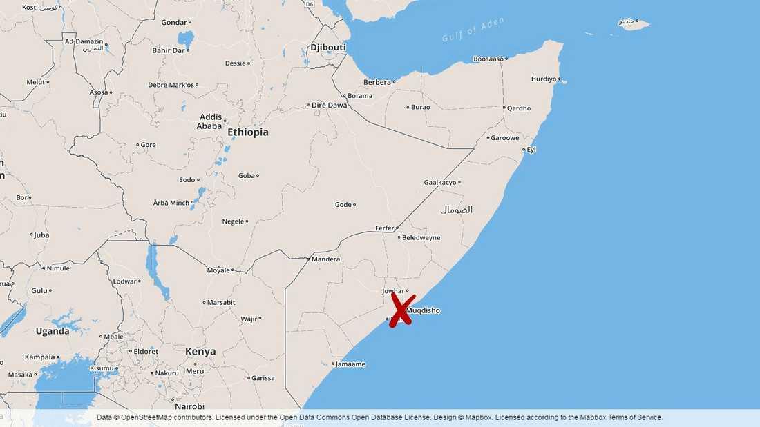 En bilbomb har exploderat i somaliska Mogadishu.