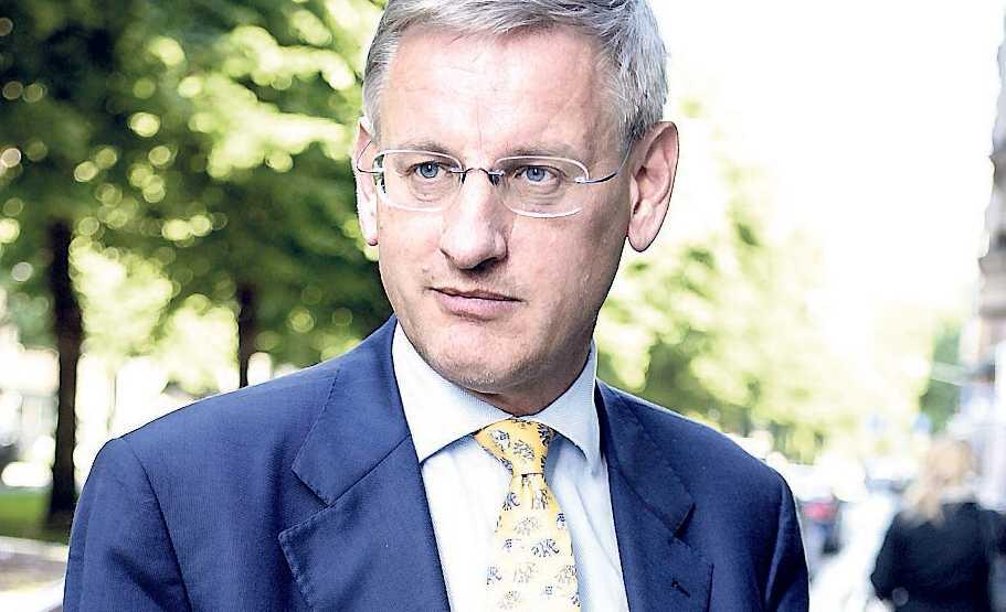 Efter ledarduon kommer utrikesminister Carl Bildt.