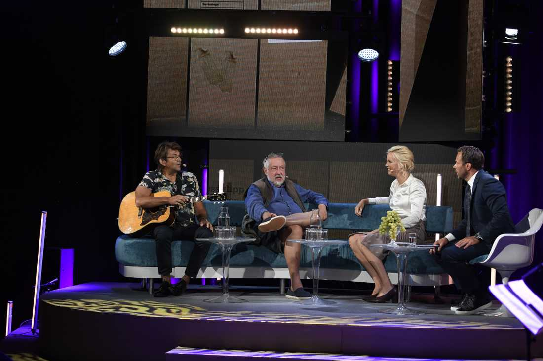 Niklas Strömstedt, GW, Jenny Strömstedt och David Helenius.