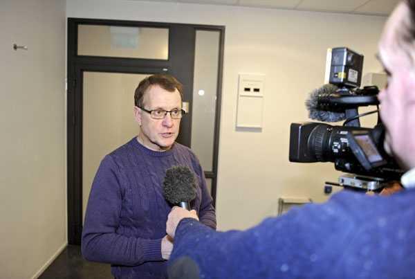 Christer Nordström, polisens pressinformatör i Uppsala.
