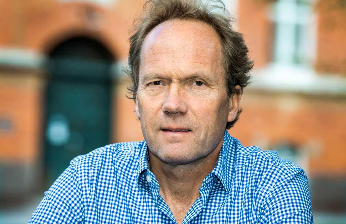 Tom Britton, professor i matematisk statistik vid Stockholms universitet. Arkivbild.