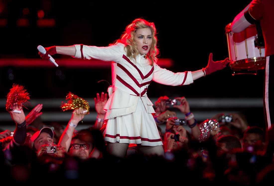 Madonna som vi är vana att se henne.