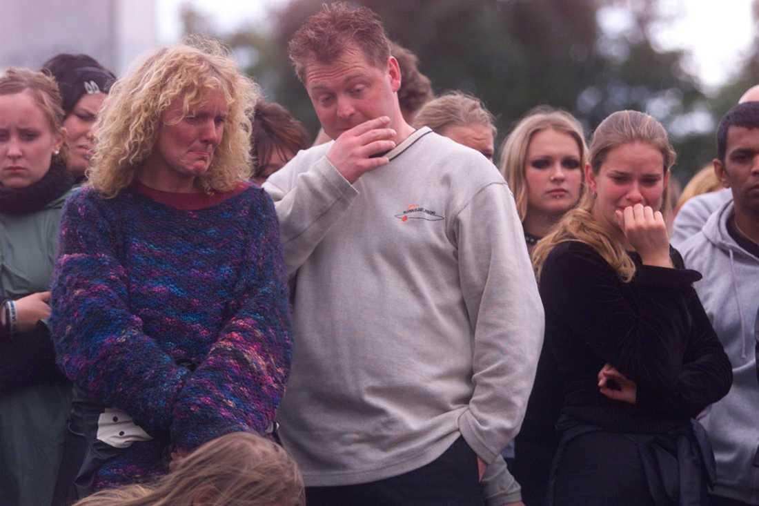 Besökare på festivalen, 2000.