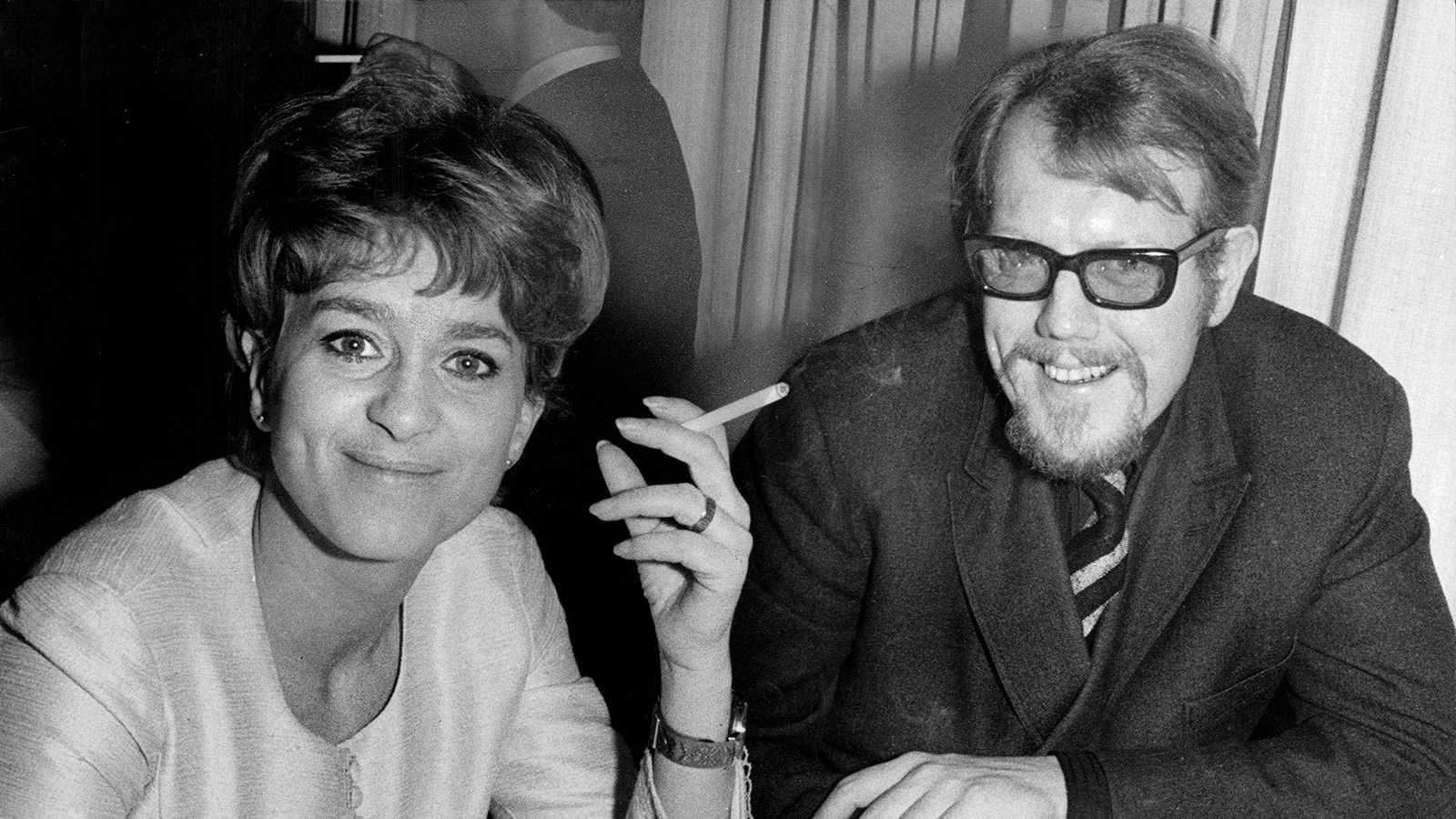 Siw Malmkvist med Svante Thuresson 1968.