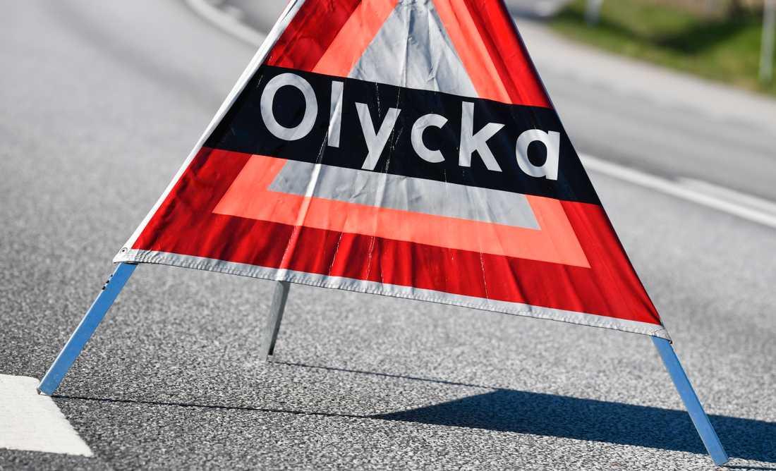 En ung man dog i en mc-olycka i centrala Vetlanda. Arkivbild.