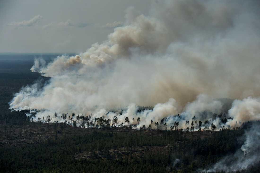 Eldningsförbud hotar valborg.