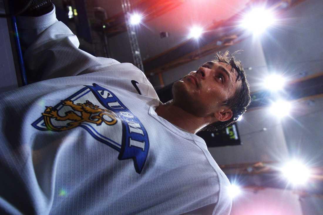 Stor stjärna i det finska landslaget.